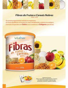 Fibras de Frutas e Cereais  www.clicnatural.com.br
