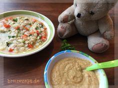 Die Buchstabensuppe mit Hühnchen nach unserem Rezept eignet sich nicht nur in der Erkältungszeit als gesundes Mittagessen für Baby & Kleinkind