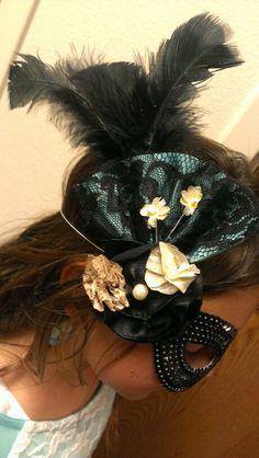Masquerade hair piece