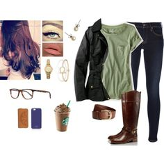\\Yeah, I Was Caught Somewhere Between A Woman And A Child. One Restless Summer We Found Love Growing Wild. On The Banks Of The River On A Well-Beaten Path. It's Funny How Those Memories They Last. Like Strawberry Wine And Seventeen// by bubblebuddy855 on Polyvore featuring American Eagle Outfitters, Barbour, Ralph Lauren Blue Label, Tory Burch, J.Crew, Sperry, Michael Kors, Oliver Peoples, H&M and Kate Spade