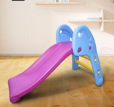 Qaba Kid s Slide Toddler Play Area Playground Outdoor Indoor Climbing Children