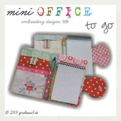 mini OFFICE to go ITH Embroidery
