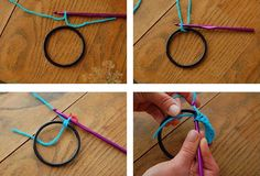 Como fazer molduras de crochê para quadrinhos - Artesanato fácil para uma decoração super delicada ~ VillarteDesign Artesanato