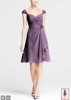 http://www.davidsbridal.com/Product_Chiffon-Sweetheart-Short-Dress-with-Cap-Sleeves-F15406_Bridal-Party-Bridesmaids-Shop-By-Color