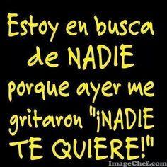 Ven a mi nadie jajajaja – Humor – Source Spanish Jokes, Funny Spanish Memes, Funny Adult Memes, Funny Jokes, Sarcastic Quotes, True Quotes, Humor Mexicano, British Humor, Funny Phrases