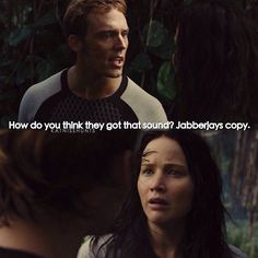 | Catching Fire | Katniss's face in this scene is so funny.
