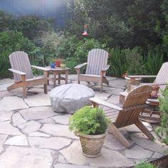 Like the patio stones.