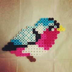 Bird perler beads by zoblue