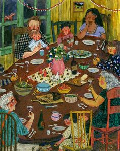 Phoebe Wahl : Around the Table
