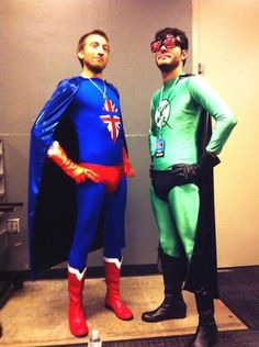Heroes Get Made • Cheer Up Post #370 - X-Ray & Vav Edition