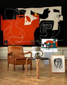ulfgbohlin:  1960 tapestry by Le Corbusier a work specifically... // http://dcult.net/2gV7DIG