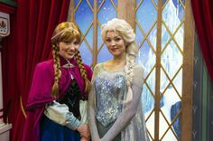 """Are you excited for the opening of the film, Disney's """"Frozen""""? Here at the Walt Disney World Resort you can already meet two stars from the film, the royal sisters Anna and Elsa. Disney Cruise, Disney Parks, Disney 2015, Disney World Vacation, Disney World Resorts, Disney Vacations, Walt Disney World, Disney Nerd, Cruise Vacation"""