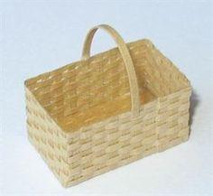 Miniature Basket Making - Make a dolls house shopping basket - Edwardian Projects - Dolls House & Miniature Scene Magazine - Hobbies And Crafts