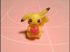 Pikachu Pokémon polymer clay tutorial