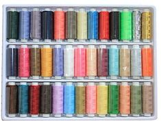 Set of 39 Assorted Spools of Polyester Sewing Thread Random Color * Read more reviews of the product by visiting the link on the image.