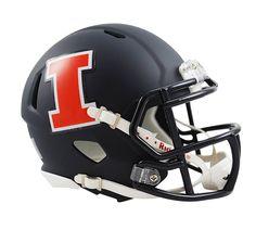 Illinois Fighting Illini Mini Helmet-Navy. University of Illinois Logo Great Ideas! More Pins Like This At FOSTERGINGER @ Pinterest