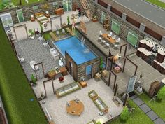 Sims freeplay designer house pictures