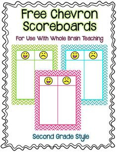 Easy Peasy Whole Brain Scoreboard & Rewards {Freebie}