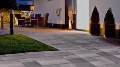 Best Pflastersteine Im Eingangsbereich Images On Pinterest - Waschbetonplatten hornbach