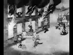 Mickey Mouse - The Fire Fighters - 1930 Mickey Cartoons, Old Cartoons, Classic Cartoons, Disney Episodes, Disney Characters, Walter Elias Disney, Fire Fighters, Walt Disney Pictures, People Laughing