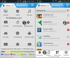 #Android : 5 Pasos Para Mover Aplicaciones a la tarjeta SD Android 4