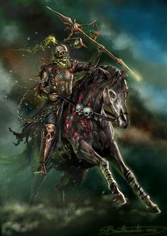 The Four Horsemen Of Apocalypse by on DeviantArt Don't Fear The Reaper, Grim Reaper, Dark Fantasy Art, Dark Art, Fantasy Armor, Apocalypse Tattoo, Horsemen Of The Apocalypse, Pale Horse, Angels And Demons