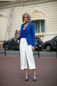 Chic and Silk: RAINBOW: Cobalt Blue. The New Black!