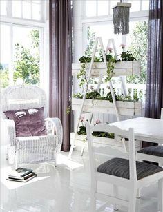 Стиль шебби шик. 50 вариантов оформления интерьера - Сундук идей для вашего дома…