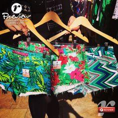 Quem esteve no nosso lançamento conferiu e adorou a inspiração tropical dos shorts da coleção Primavera Verão 2015.