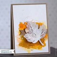 Stampin' Up! - Grußkarte - Herbst- Autumn - Global Design Project 002 - Vintage Leaves - Watercolor ❤ Stempelwiese
