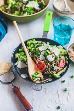 Green Summer Pasta |  Spielerisch Kochen