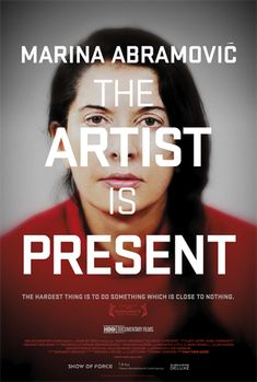 I just watched the Marina Abramovic documentary last night...it blew my mind.
