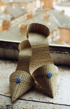 zapatos de #papel