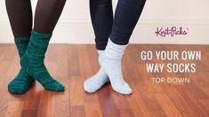 New Ideas For Knitting Patterns Free Socks Slippers Knitted Socks Free Pattern, Crochet Patterns Amigurumi, Knitting Patterns Free, Crochet Socks, Knitting Videos, Knitting For Beginners, Knitting Projects, Lace Knitting, Knitting Socks