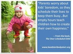 Your Kids: Are they Overscheduled?