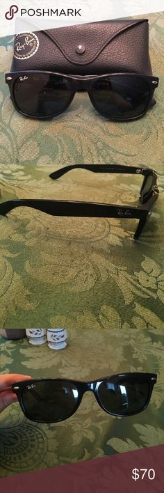Authentic Ray-Bans, Original Wayfarer Black Barely worn! Bought about 5 years ago. Timeless style & in great condition! Ray-Ban Accessories Sunglasses