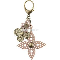 Louis Vuitton Key Rings Rock Flower Bag Charm M65851 BXP   See more about key rings, louis vuitton and keys.