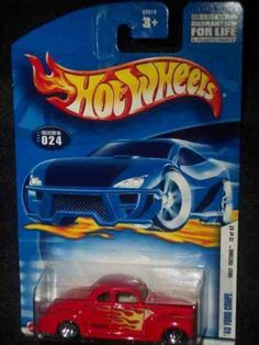2002 First Editions -#12 1940 Ford Coupe #2002-24 Collectible Collector Car Mattel Hot Wheels 1:64 Scale by Mattel. $2.18. Diecast Metal Hot Wheels Car Perfect For That Hot Wheels Collector!. Great Investment For Any Hot Wheels Collector.. Perfect Hot Wheels Diecast for every collector!. A Perfect Addition To Any Hot Wheels Collection!. Fun For All Ages! Serious Collectors And Kids Alike!. 2002 First Editions -#12 1940 Ford Coupe #2002-24 Collectible Collector Car M...