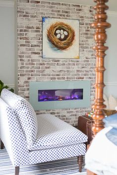 DIY german smear tutorial | brick mortar wash how to: THIS DOESN'T SOUND TOO HARD! Love the look for whitewash brick!! Lovely idea for a brick fireplace. from heatherednest.com #germansmear #mortarwash #whitewashing #updatebrick #brickupdate #howtoupdatebrick #howtowhitewashbrick #howtomortarwashbrick #howtogermansmearbrick #howtoupdateafireplace