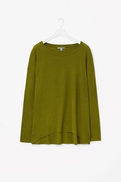 COS | Wool-mix jersey top