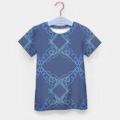Kids designers t-shirt blue Ornaments, Live Heroes Design Shop, Designers, Short Sleeve Dresses, Ornaments, Live, Stylish, T Shirt, Shopping, Fashion