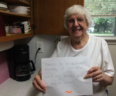"""""""Thanks to occupational therapy I can now reach my dishes and so much more!"""""""