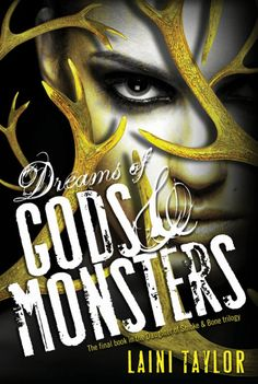 cover reveal: Dream of Gods & Monsters! Woo!