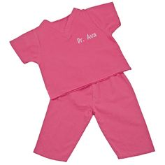 Personalized Kids' Scrubs - available in 3 colors $32.00 http://thegiftingspot.com/category_724/Personalized-My-First-Scrubs.htm