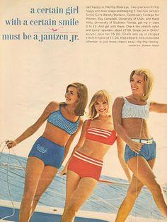 Jantzen Bikinis 1965