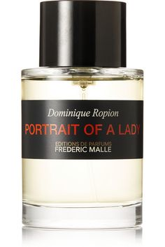 """Named after Henry James' 1881 novel """"Portrait of a Lady,"""" Frederic Malle's perfume is a magnetic, intense fragrance that represents heroine Isabel Archer's quest for freedom. Master perfumer Dominique Ropion concocted this scent with a dominant Rose Essence and Patchouli heart atop a sensual base of Benzoin, Cinnamon, Sandalwood, Musk and Frankincense. It is, as the brand describes, a """"modern classic."""""""