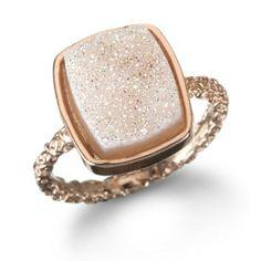 REVEL: Nadia Stackable Druzy Ring