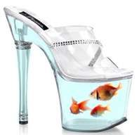 If the goldfish were fake, I would totally wear these!