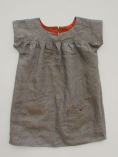 Oliver + S Ice Cream Dress  Make this out of the grey or turquoise cord.