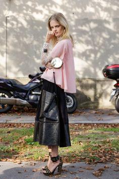 #StreetStyle can't not pin it... HGO #offduty in Paris. #HanneGabyOdiele